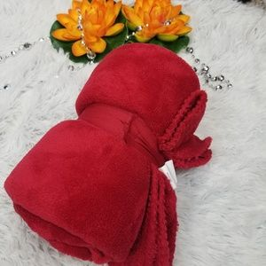 Other - Red blancket plush throw new